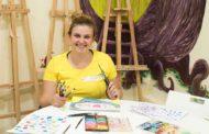 Los pequeños artistas aprenden a expresarse en Albororía