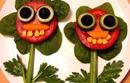 La I Feria Ecomercado de León organiza originales talleres para que los niños pierdan el miedo a las verduras
