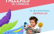 Talleres de diversión y creatividad este Carnaval en Abacus