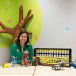 Sandra Valdueza (Abacus Innova): «Aprender a resolver retos es necesario hasta para escribir un libro»