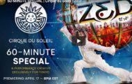 Zed, nuevo especial del Circo del Sol para este viernes