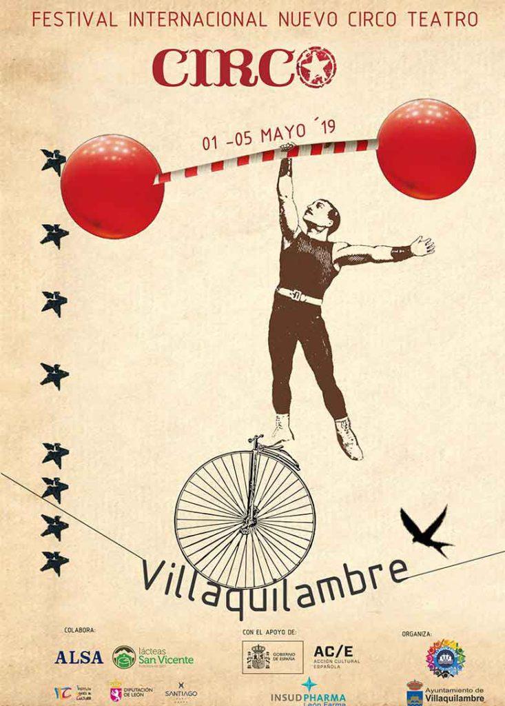 Festival internacional de circo Villaquilambre