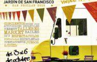 El Come y Calle vuelve al Jardín de San Francisco del 3 al 6 de octubre