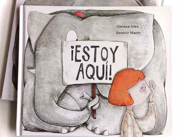 ¡Estoy aquí! de Vanesa Díez y Beatriz Marín. Editorial Emonautas