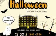 Pequefiesta de Halloween en Casa Botines