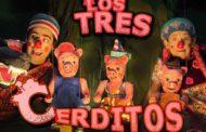 Los tres cerditos, teatro para este finde