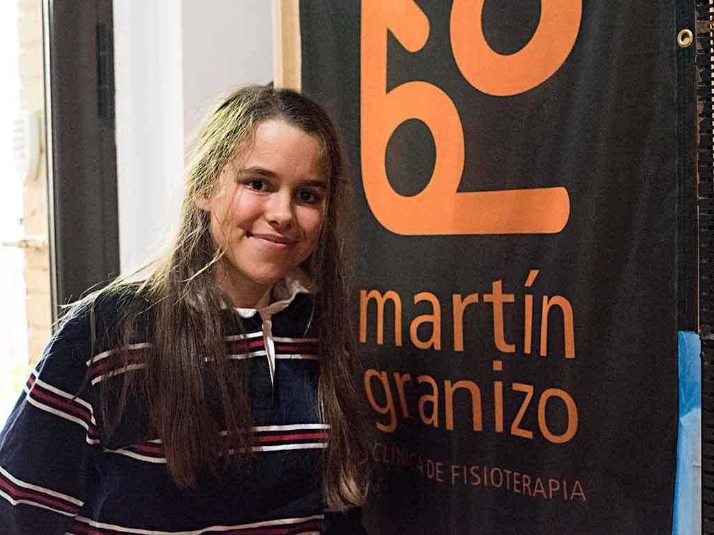 María Martín-Granizo, campeona de esquí adaptado
