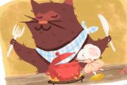'The fussy little mouse', cuentacuentos en inglés