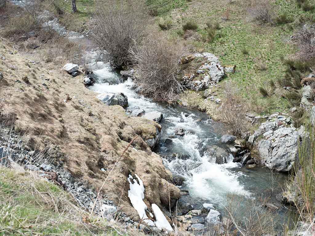 Ruta de las cascadas de río Faro