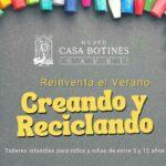La Casa Botines propone cinco talleres para niños en agosto