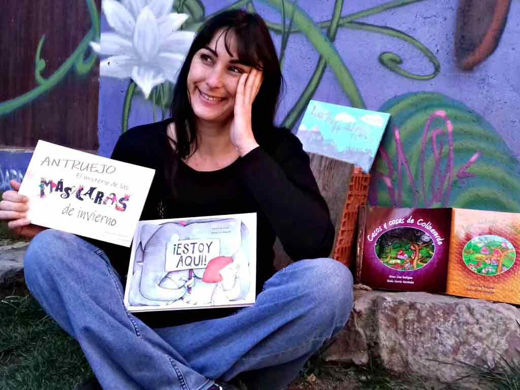 Vanesa Díez, escritora leonesa